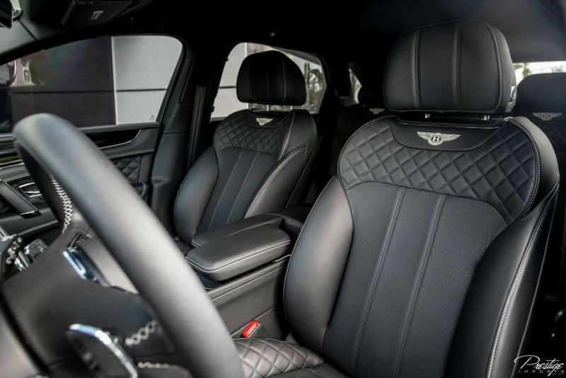2017 Bentley Bentayga Interior Cabin Front Seats