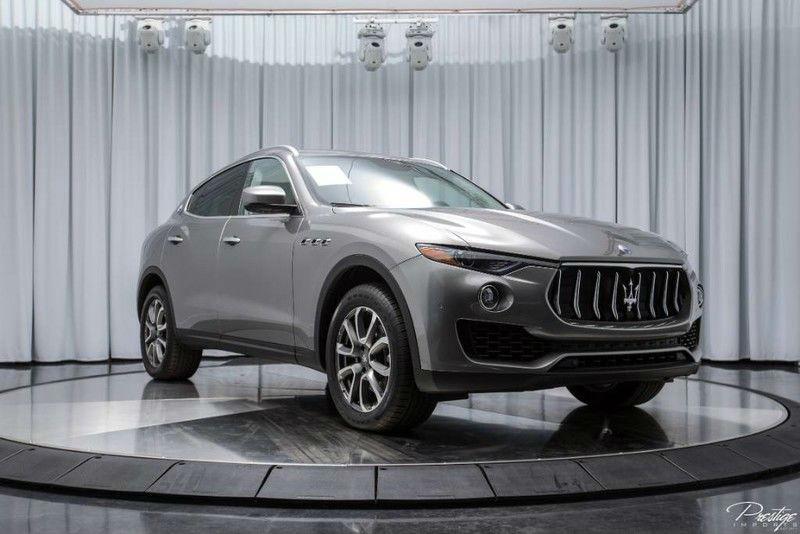 2017 Maserati Levante Exterior Passenger Side Front Profile