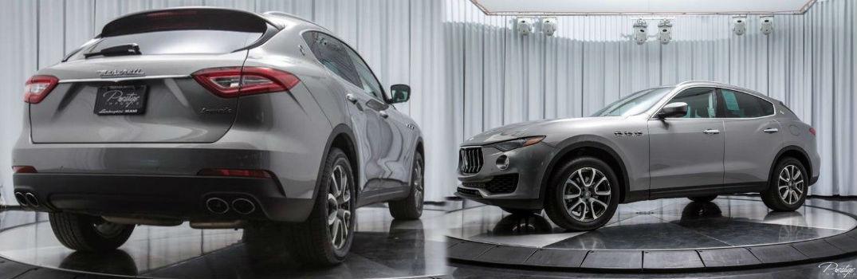 2017 Maserati Levante Exterior Passenger Side Rear Driver Side Front Profile
