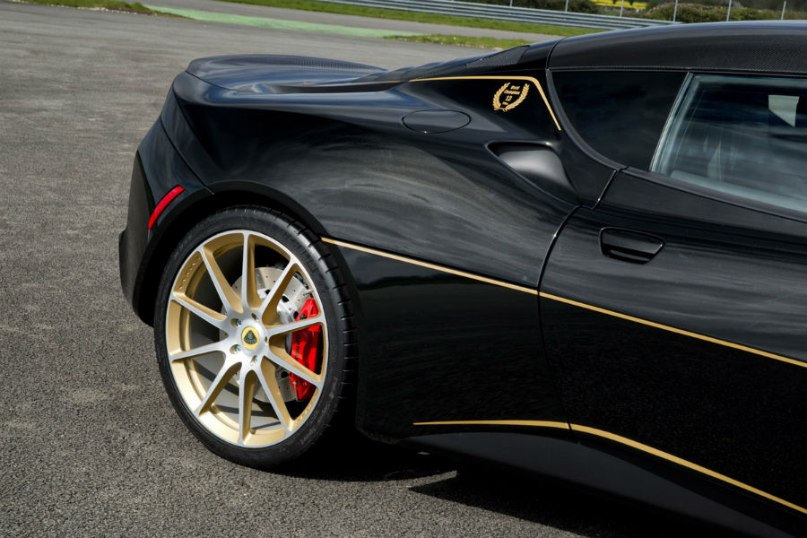 2018 Lotus Evora Sport 410 Exterior Rear Wing and Decal