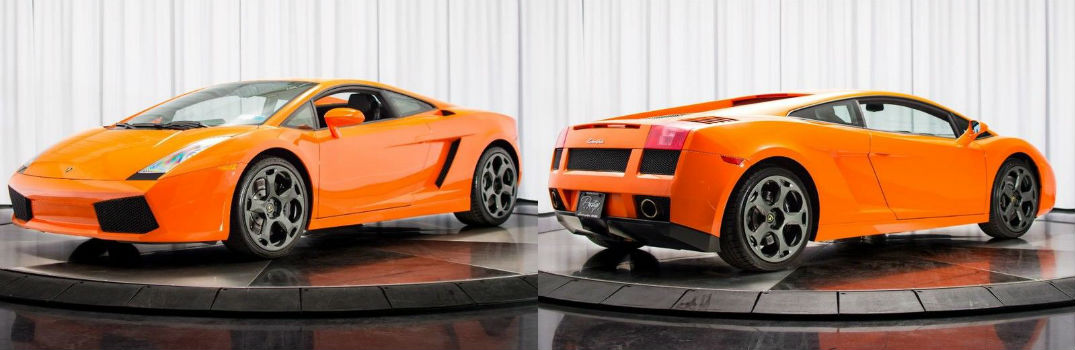 2005 lamborghini gallardo for sale north miami beach fl. Black Bedroom Furniture Sets. Home Design Ideas