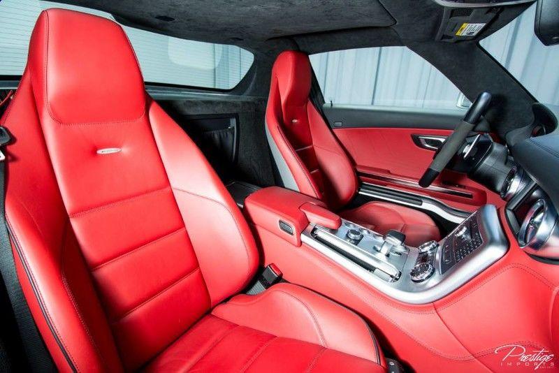 2011 Mercedes-Benz SLS AMG Interior Cabin Front Seats