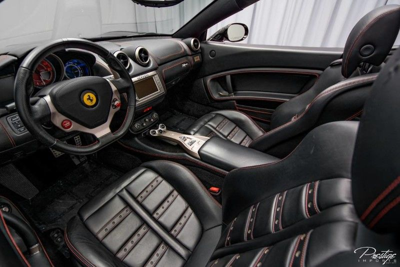 2012 Ferrari California Interior Cabin Dashboard