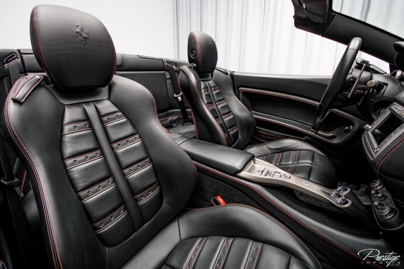 2012 Ferrari California Interior Cabin Seating