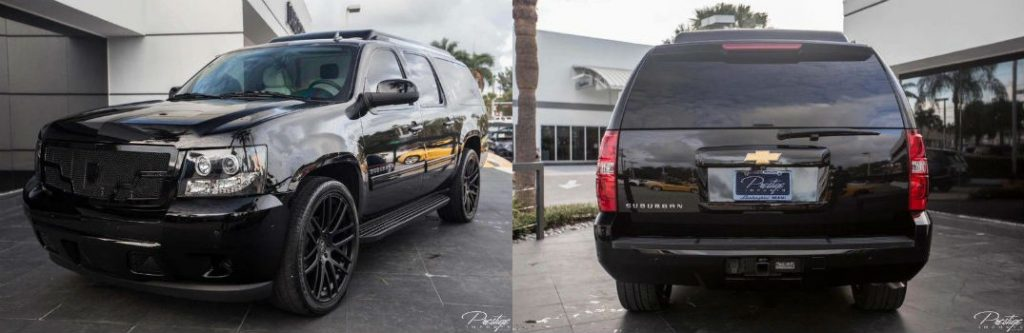 2013 Chevy Suburban Mobile Office For Sale North Miami