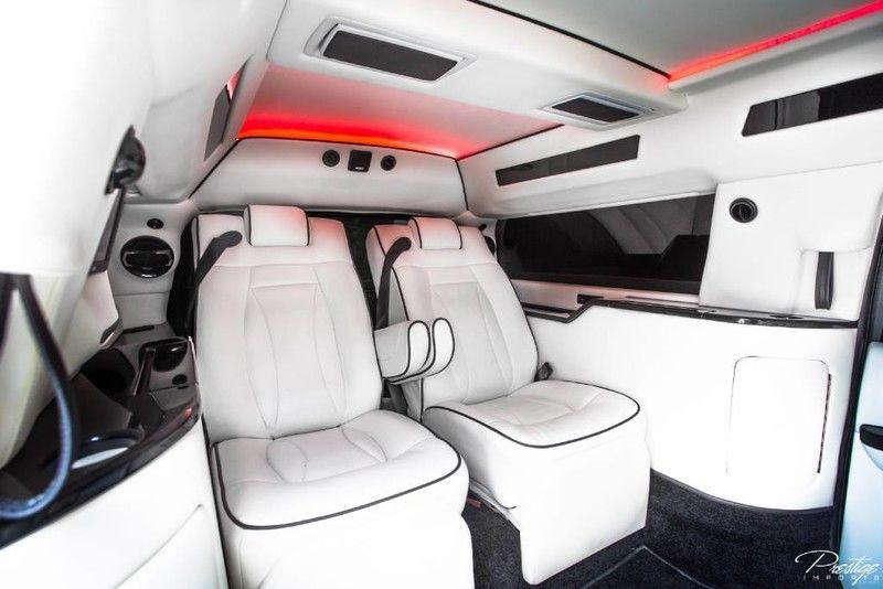 2013 Chevy Suburban CEO JET Edition Mobile Office LT Interior Cabin Passenger Seats_d