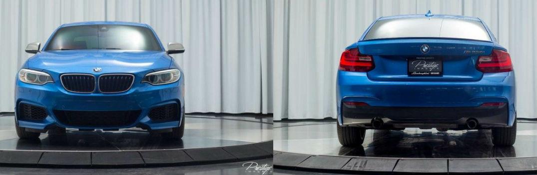 2015 BMW 2 Series M235i Exterior Front Fascia Rear Fascia