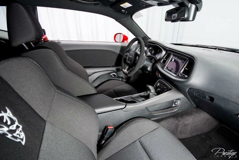 2018 Dodge Challenger SRT Demon Interior Cabin Front Seats