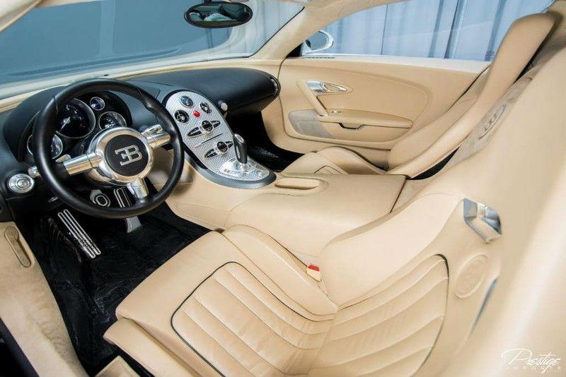 2008 Bugatti Veyron Interior Cabin Dashboard