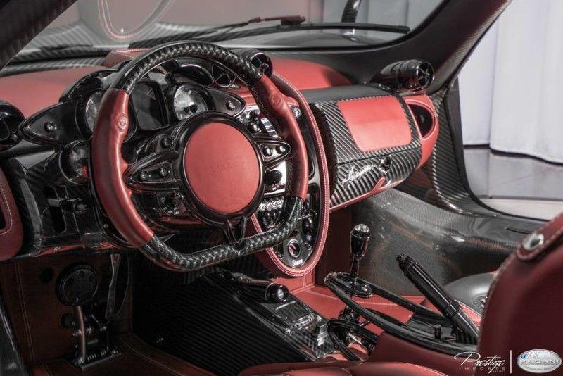 2016 Pagani Huayra Interior Cabin Dashboard