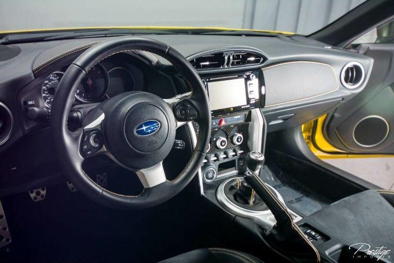 2017 Subaru BRZ Series Yellow Interior Cabin Dashboard