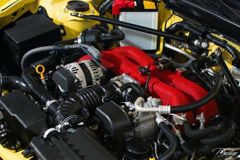 2017 Subaru BRZ Series Yellow Interior Engine Bay