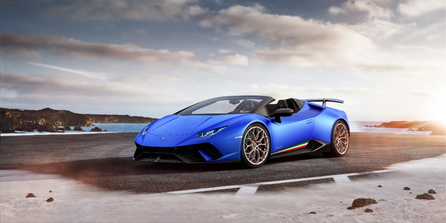2019 Lamborghini Huracan Performante Spyder Photo Gallery