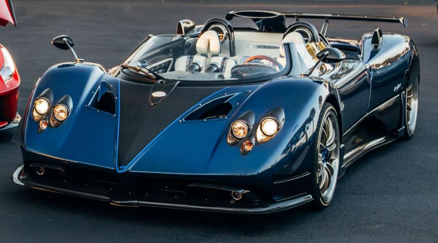 Pagani Zonda HP Barchetta at Prestige Imports Exterior Driver Side Front