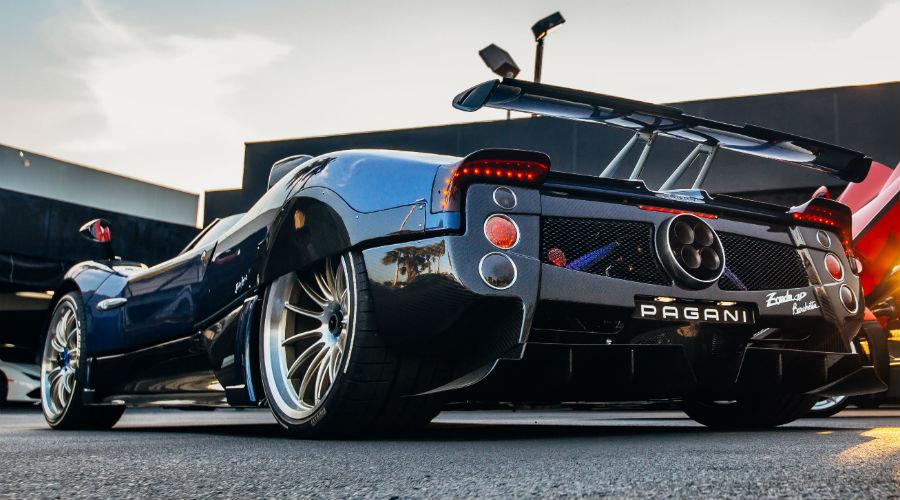 Pagani Zonda HP Barchetta at Prestige Imports Exterior Driver Side Rear