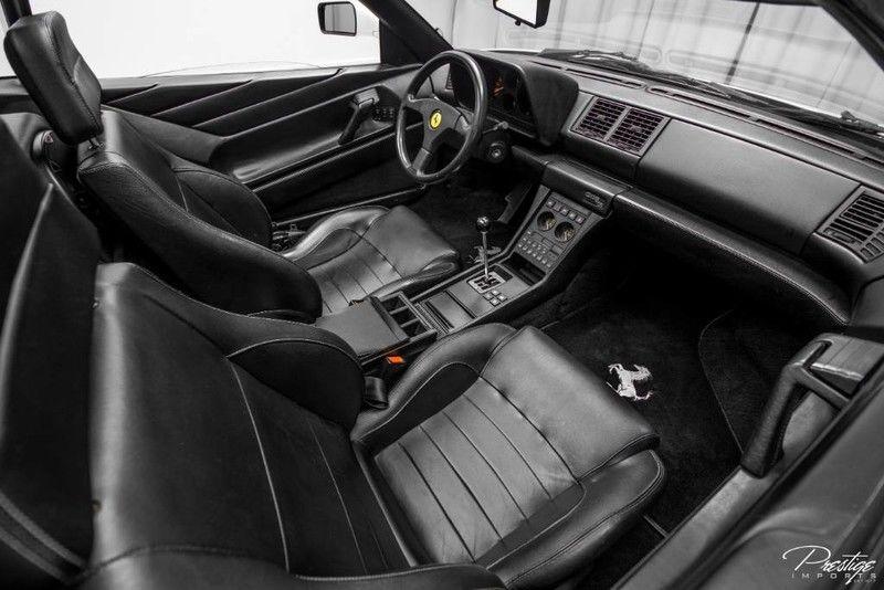 1991 Ferrari 348 TS Interior Cabin Dashboard
