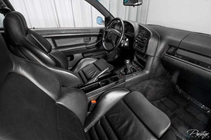 1996 BMW 3 Series M3 Interior Cabin Dashboard