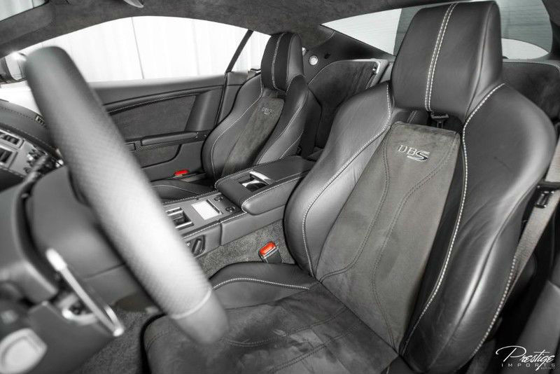 2009 Aston Martin DBS Interior Cabin Front Seating