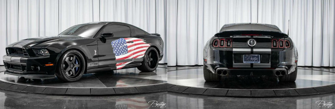 2014 Ford Mustang Shelby GT500 Exterior Driver Side Front and Rear Fascia