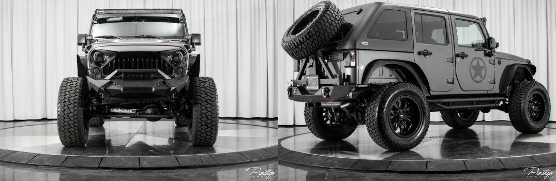 2017 Jeep Wrangler Unlimited Big Bear For Sale North Miami Beach FL