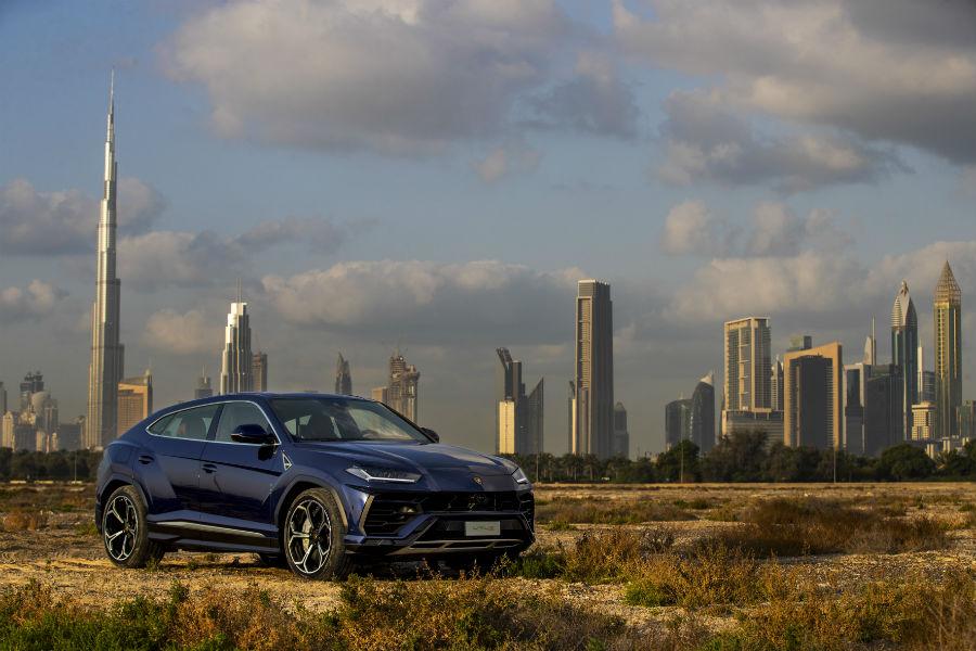 2018 Lamborghini Urus Exterior in Dubai