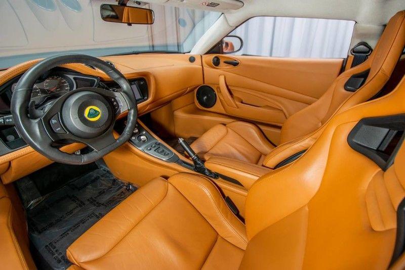 2013 Lotus Evora S 2+2 Interior Cabin Front Seat and Dashboard