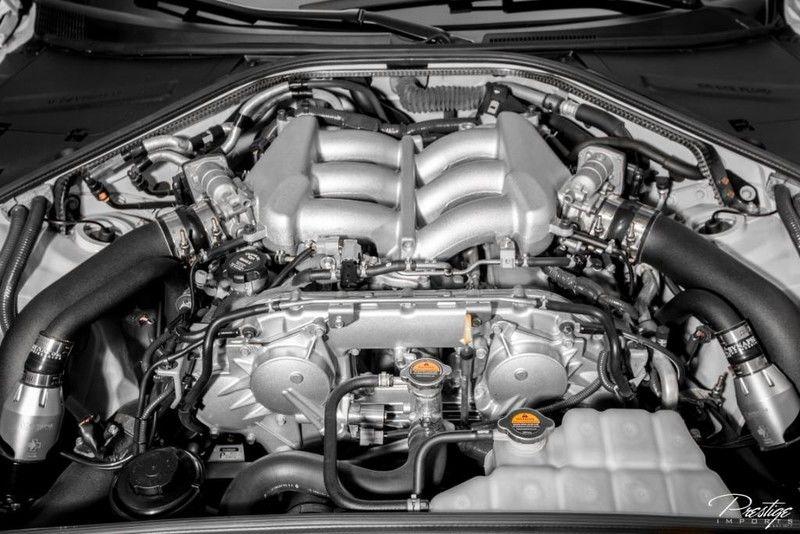 2013 Nissan GT-R Premium Interior Engine Bay