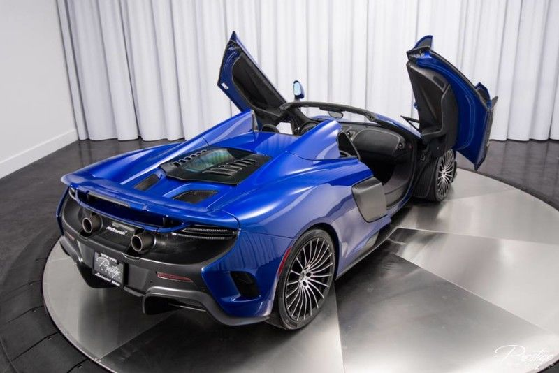 2016 McLaren 675LT Exterior Passenger Side Rear Doors Open