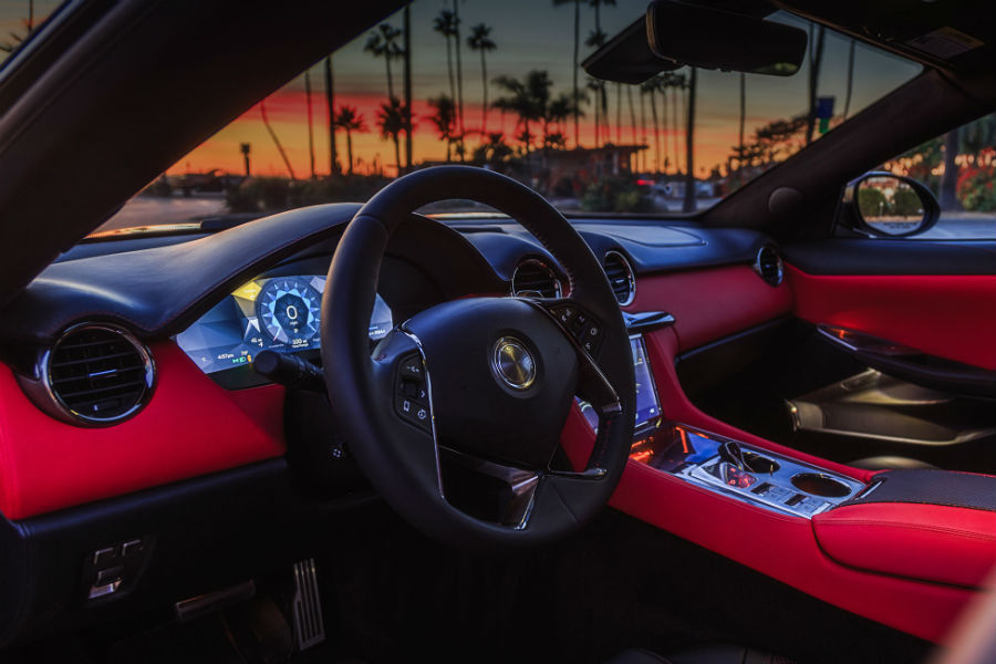 2018 Karma Revero Interior Cabin Dashboard