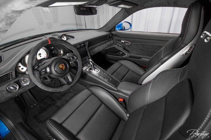 2018 Porsche 911 GT3 Interior Cabin Dashboard