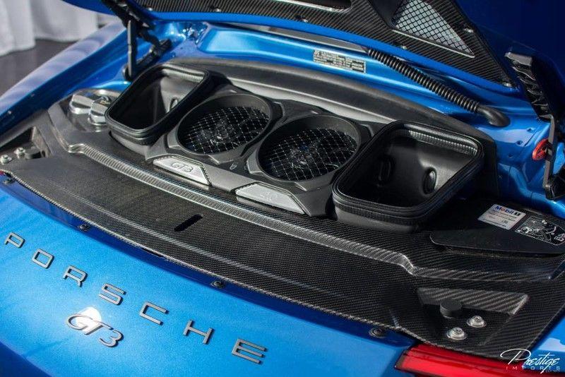 2018 Porsche 911 GT3 Interior Sound System