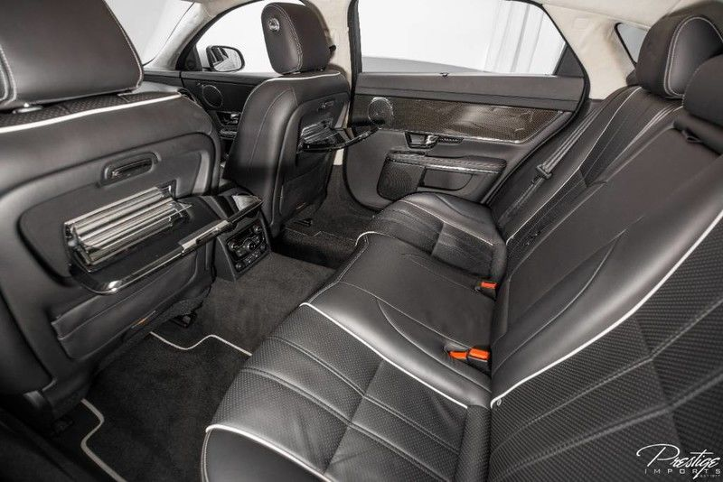 2011 Jaguar XJL Interior Cabin Front Seat Backs