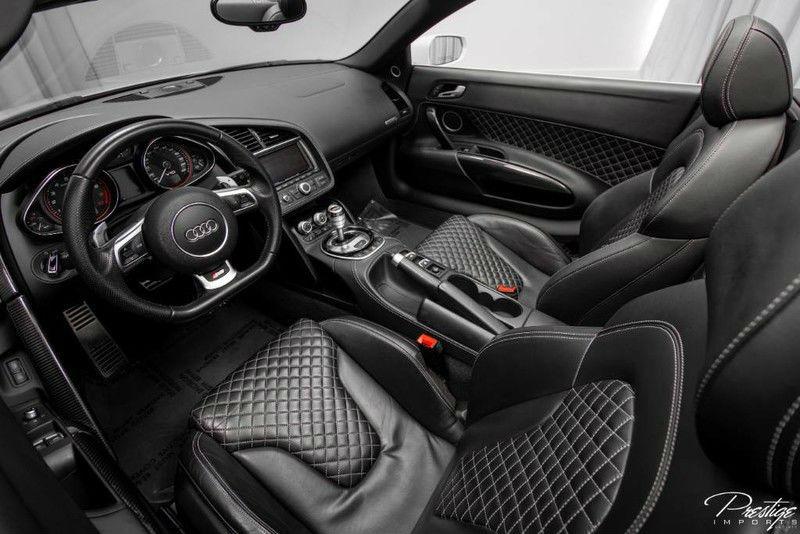 2014 Audi R8 V10 Spyder Interior Cabin Dashboard