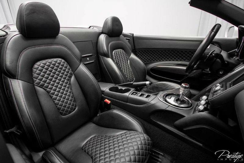2014 Audi R8 V10 Spyder Interior Cabin Seating