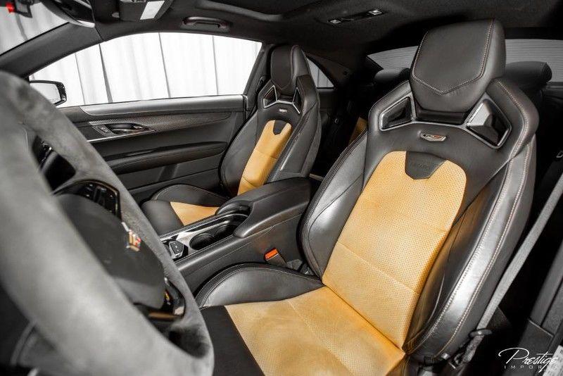 2016 Cadillac ATS-V Coupe Interior Cabin Front Seats