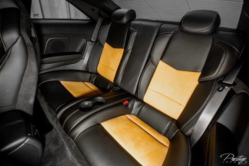 2016 Cadillac ATS-V Coupe Interior Cabin Rear Seats