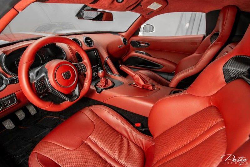 2017 Dodge Viper GTC Interior Cabin Dashboard