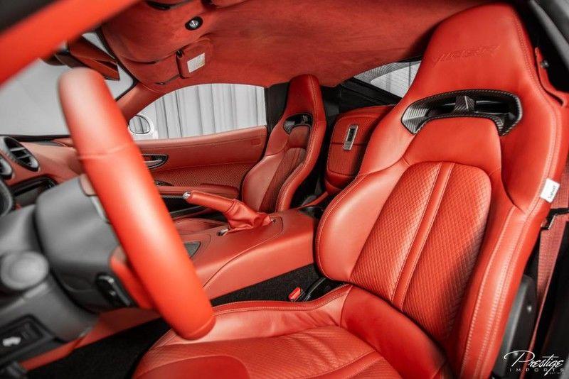 2017 Dodge Viper GTC Interior Cabin Front Seating