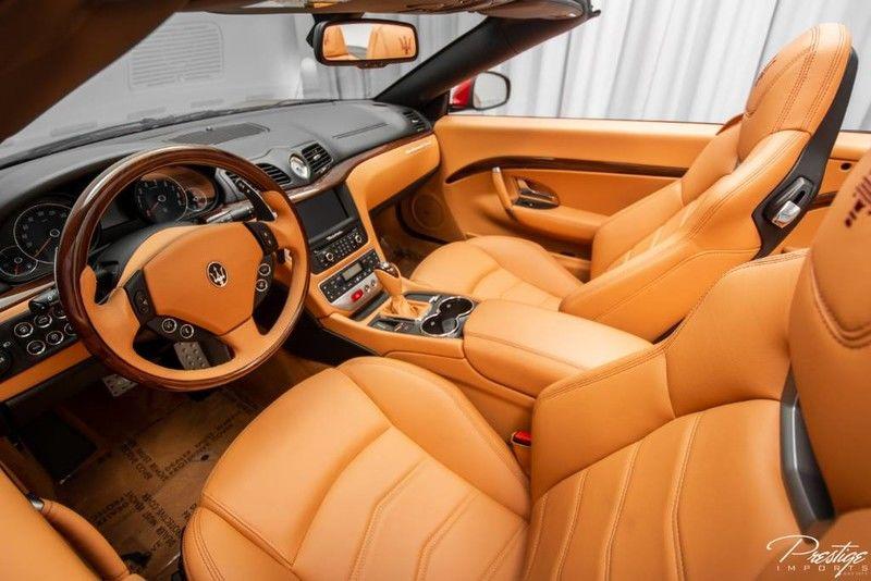 2017 Maserati GranTurismo Convertible Sport Interior Cabin Dashboard