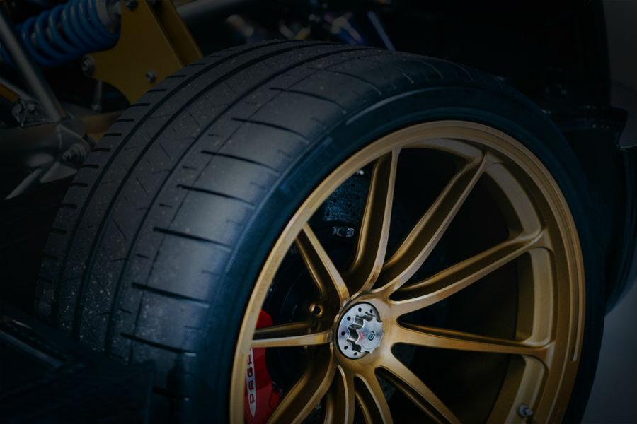 Pagani Huayra BC Exterior Wheels and Tires