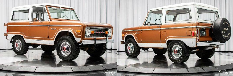 1977 Ford Bronco Exterior Passenger Side Front Driver Side Rear