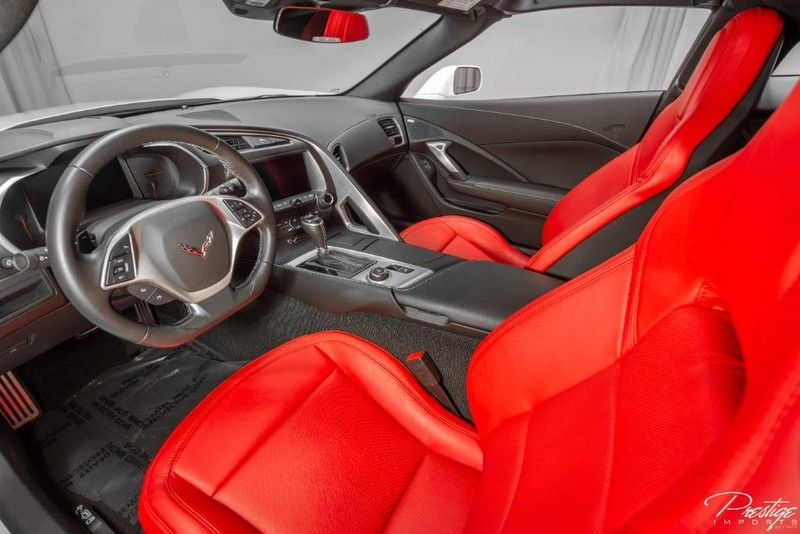 2018 Chevy Corvette 1LT Interior Cabin Dashboard