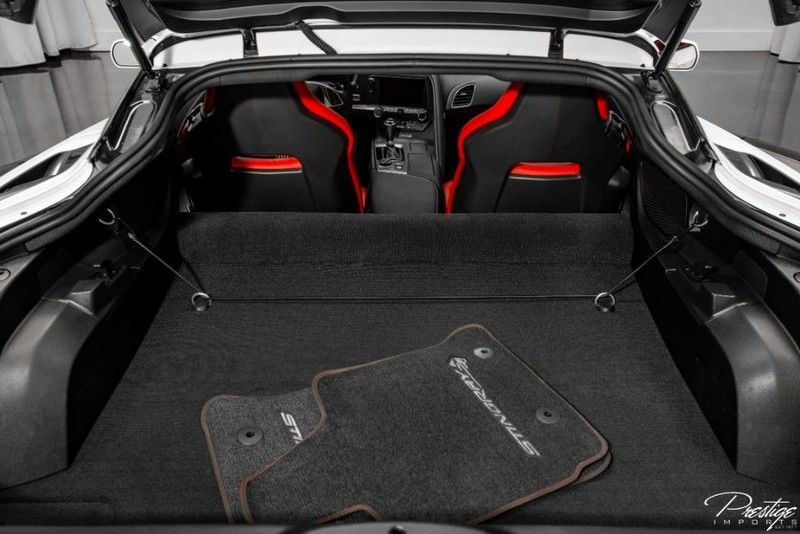 2018 Chevy Corvette 1LT Rear Cargo Area
