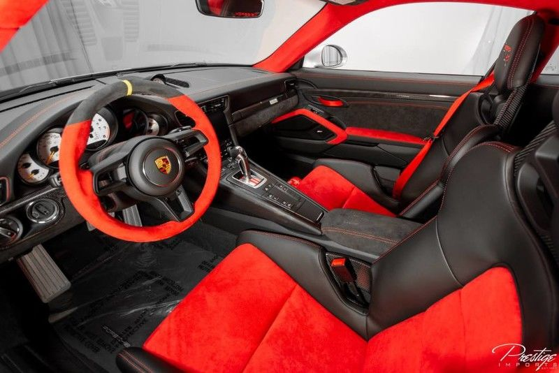 2018 Porsche 911 GT2 RS with Weissach Package Interior Cabin Dashboard