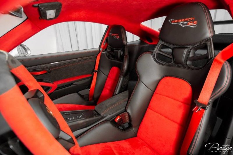 2018 Porsche 911 GT2 RS with Weissach Package Interior Cabin Front Seating