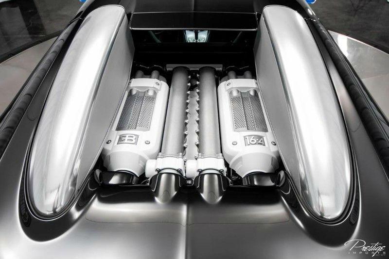 2010 Bugatti Veyron Exterior Engine Bay