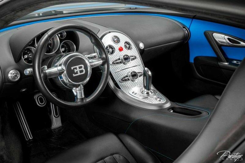 2010 Bugatti Veyron Interior Cabin Dashboard