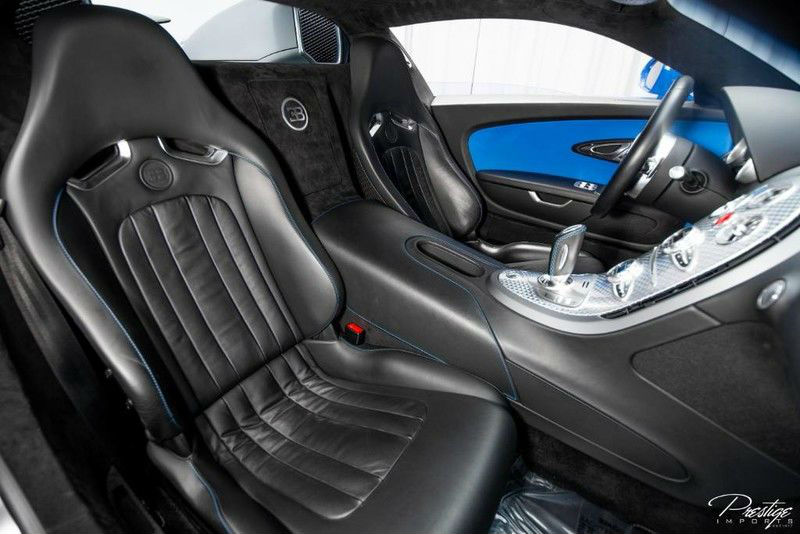 2010 Bugatti Veyron Interior Cabin Seating
