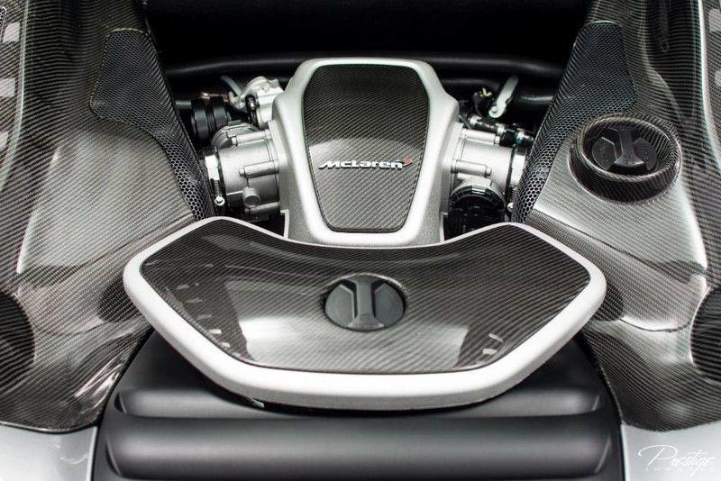 2012 McLaren MP4-12C Interior Engine Bay