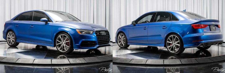 2016 Audi S3 Premium Plus Exterior Passenger Side Front Driver Side Rear